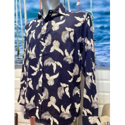 Camisa Eolo flores